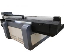 CE Certificated A2 Jet Mini LED-UV Flatbed Printer for Glass in UK