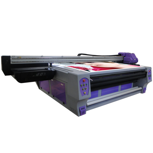 Large Format Docan UV Roll to Roll Printer with Ricoh Printhead for Banner Printing in Luxembourg