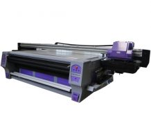 UV Printer 1.22m*2.44m with 2PCS LED Lamp & Epson Dx5 Heads 1440dpi in Bahamas