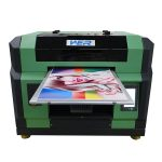 2016 New Design CE approved with two heads a2 flatbed led uv printer in china