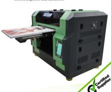 New Design A2 Size Ball Screw and Air Suction Platform UV Flated Printer in Kenya