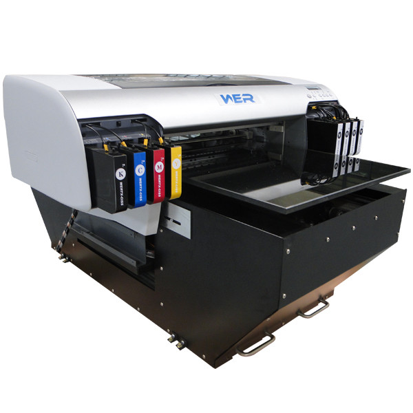 Hot selling A2 WER-D4880UV UV curable flatbed printer