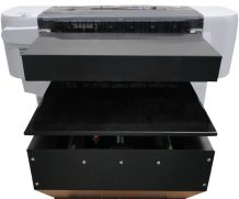 UV Printer 1.22m*2.44m with 2PCS LED Lamp & Epson Dx5 Heads 1440dpi in Bandung