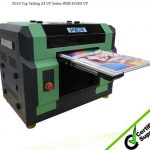 Glass Printing Machine Docan UV Printer with Ricoh Gen Printhead in Accra