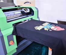 China Large Format A1 Size 7880 LED UV Flatbed Printer in Senegal