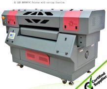 3.2m 10feet Roll to Roll LED UV Flatbed Printer in Uzbekistan