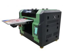 CE ISO Approved High Quality Inkjet Printer Type and New Condition UV Inkjet Printer in Greece