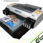 CE certficated a2 size dual heads uv inkjet printer for any hard material printing machine