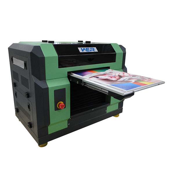 Best selling A3 size WER-E2000UV with eight colors and high resolution cd dvd flatbed printer