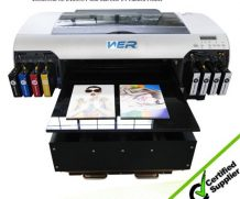 A2 Double Dx5 Head High Speed Glass and Metel UV Printer in Poland