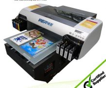 Wer-ED2514UV CE ISO Approved Big Printing Size Flatbed UV Printer in Liberia