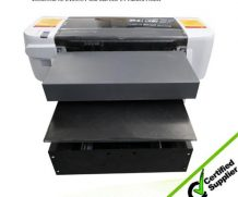 CE Certificate Mulitfucational A3 Epson Dx5 Head UV Flatbed Printer in Morocco