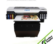 Wer-ED2514UV CE ISO Approved High Quality Plastic, PVC UV Printer in Sierra Leone