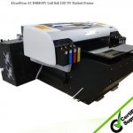 Wer-Ef2814UV CE ISO Approved Large Format UV Printer in Lisbon