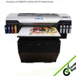 Cheap A3 WER E2000 UV led flatbed digital pen printing machine