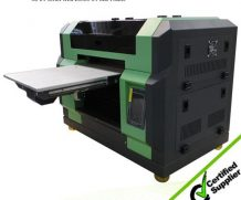 Glass Printing Machine Docan UV Printer with Ricoh Gen Printhead in Ethiopia