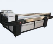 High Speed 1.8m 6 Ricoh Gh2220 UV Flatbed Printer in USA