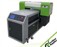 High Resolution A2 UV Flatbed Printer with 395 Nm LED UV Light in Liberia