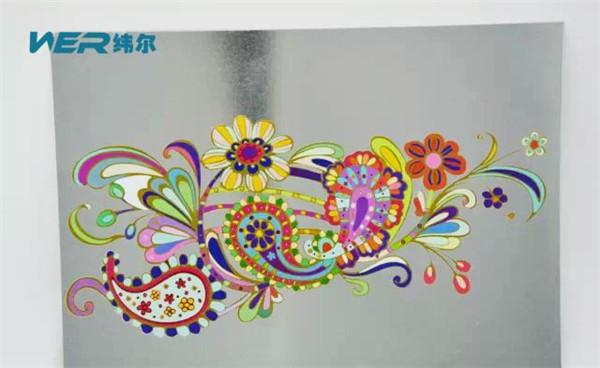 High Quality Large Format UV Flatbed Printer (2.5m*1.22m) with Ricoh H220 Printhead in Tajikistan Printing Sample
