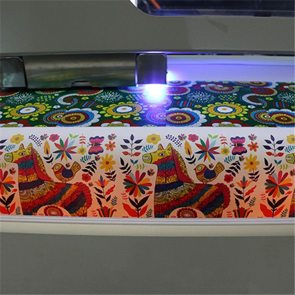 "Hot selling 13"" x 18.8"" A3 plus Size WER-E2000UV DESKTOP uv flatbed printer Printing Sample"
