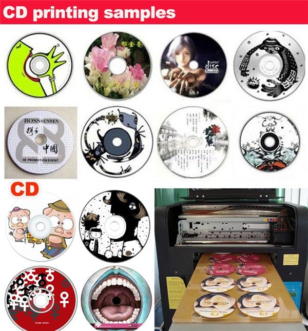 A cheap factory price to get a nice A3 uv led flatbed printer Printing Sample
