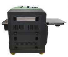 High Speed A2 Two Head Plastic UV Flatbed Printer in Lima