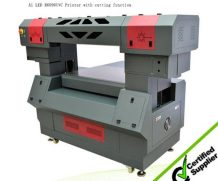 Mutifuctional LED UV Belt Roll to Roll Printer, Digital UV Wall Paper, Vinyl Printer in Panama