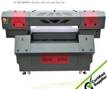 Wer 90*60cm LED UV Flatbed Printer with 280mm Printing Height in Suriname