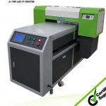 A2 WER ED4212UV color and white same time printing glass uv flatbed printer
