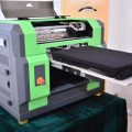 New Design A2 Size Ball Screw and Air Suction Platform UV Flated Printer in Morocco