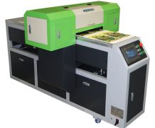Wer 90*60cm LED UV Flatbed Printer with 280mm Printing Height in Brisbane