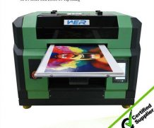 China Manufacture 8 Color Rigid PVC Board UV Printing Machine in Suriname