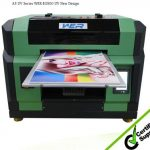quality WER-ED6015 uv printing machine ink jet printer for Glass,Ceramic tile,Plastic ,Metal,Wood etc