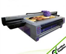 New Design UV Roll to Roll Leather Printing Machine in Jakarta