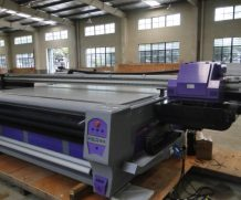 LED UV Flatbed Printer 2.8m *1.3m for Hard Materials in Toronto