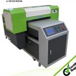 Popular A3 329*600mm WER-E2000UV flatbed inkjet digital printer for plastic