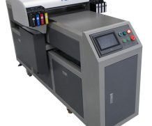 New Fashion design A3 WER-E2000UV small flat bed uv printer