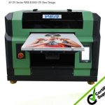2016 multifunctional A3 WER E2000UV flatbed uv printer glass printing machine ,glass printers