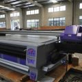 Large Format 3.2m UV Roll to Roll Leather Printing Machine with Two Epson Dx5 Head for High Resolution in Guinea