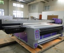 A2 42cm*120cm 4880 Multifuctional LED UV Flatbed Printer in Sierra Leone