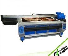 Large Printing Size 2.5m*1.22m UV Flatbed Printer with Good Printing Effect in USA