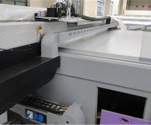 1.6 M * 2.8m Sheet to Sheet UV Glass Printing Machine in New York