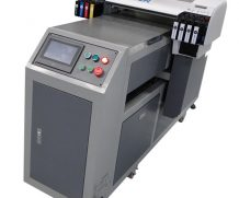 High resolution and stable CISS system a3 WER-E2000UV digital desktop small uv flatbed printer