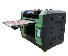 Ce Approved A2 Desktop Dual Head UV Flatbed Printer in Poland