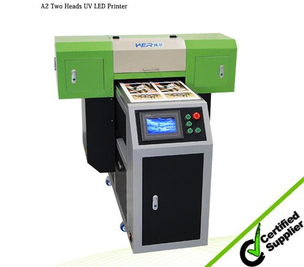 a1 size 6090uv printing and cutting Ricoh printer machine with uv lamp