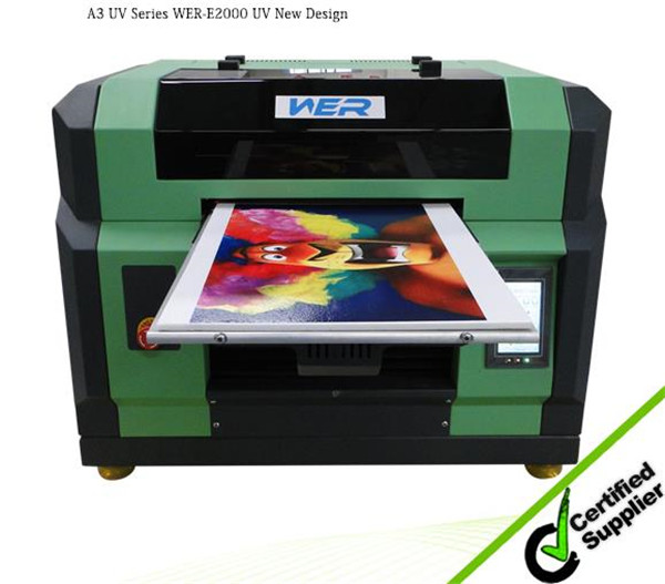 Multi color uv printing machine,uv led flatbed printer, mug printing machine price and plastic printing machine from L800