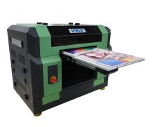 Ce Approved A2 Desktop Dual Head UV Flatbed Printer in Netherlands