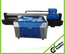 High Speed A2 Two Head Plastic UV Flatbed Printer in Paraguay