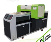 New Design A2 Size Ball Screw and Air Suction Platform UV Flated Printer in Comoros