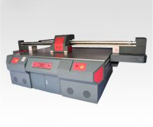 China Large Format A1 Size 7880 LED UV Flatbed Printer in Brazil